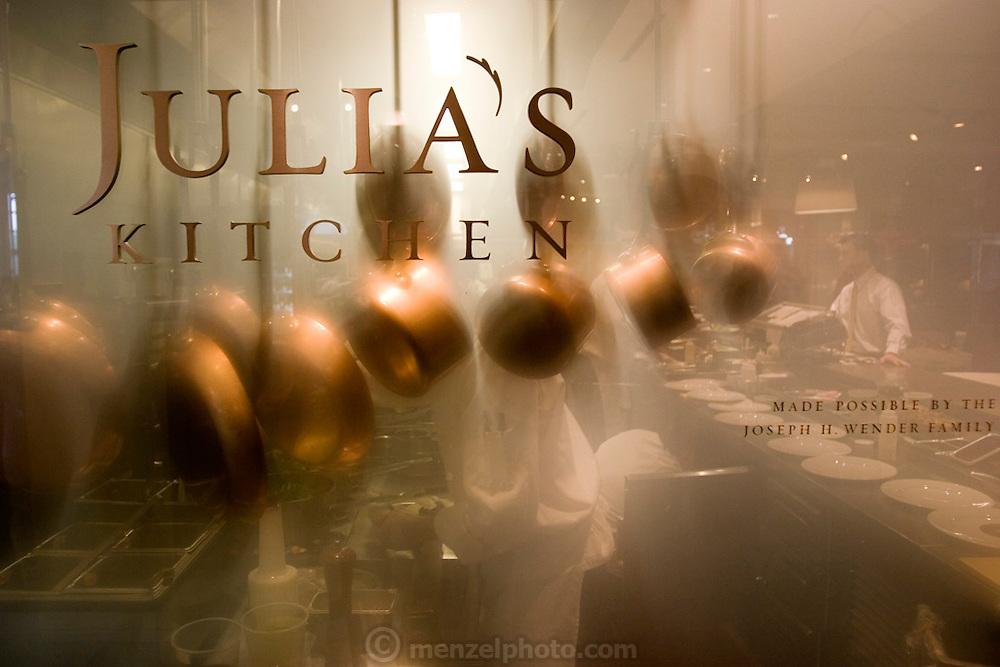 Julia's Kitchen Restaurant at Copia: The American Center for Food, Wine and the Arts, Napa, California. Napa Valley.