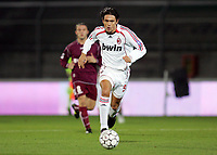 """Filippo Inzaghi (Milan)<br /> Italy """"Tim Cup"""" 2006-2007<br /> 18 Jan 2007 (Quarter Final 2nd Leg)<br /> Arezzo-Milan (1-0)<br /> """"Comunale"""" Stadium-Arezzo-Italy<br /> Photographer: Luca Pagliaricci INSIDE"""