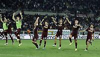 esultanza fine gara Torino<br /> Db Torino 30/08/2015 - campionato di calcio serie A / Torino-Fiorentina / foto Daniele Buffa/Image Sport