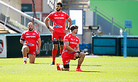 Rugby Union - 2019 / 2020 Gallagher Premiership - Leicester Tigers vs Sale Sharks<br /> <br /> Players pre match at Welford Road.<br /> <br /> COLORSPORT/LYNNE CAMERON