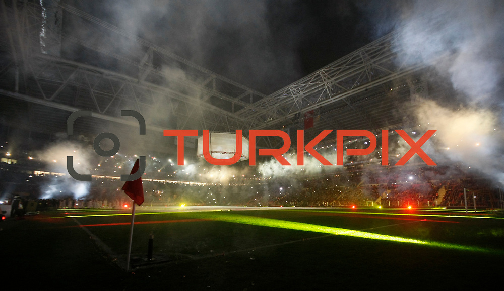 Galatasaray's and Ajax's during their Friendly soccer match Galatasaray between Ajax at the Turk Telekom Arena at Arslantepe in Istanbul Turkey on Saturday 15 January 2011. Turkish soccer team Galatasaray new stadium Turk Telekom Arena opening ceremony. Photo by TURKPIX