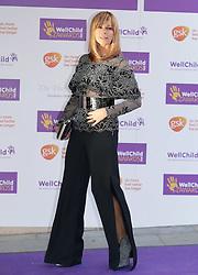GMTV presenter Kate Garraway attending the annual WellChild Awards at The Dorchester Hotel, London.