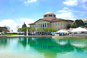 Founders Hall at Soka University During the 18th Annual International Festival