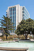 Ronald Reagan Federal Courthouse Building in Santa Ana California