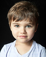 Child actor and model headshot