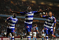 Fotball<br /> England<br /> Foto: Fotosports/Digitalsport<br /> NORWAY ONLY<br /> <br /> Damion Stewart Celebrates Scoring Winning goal with team mates<br /> Queens Park Rangers 2008/09<br /> Aston Villa V Queens Park Rangers (0-1) 24/09/08<br /> The Carling Cup 3rd Round
