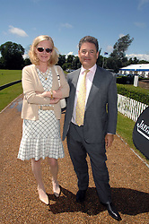 TOM GOLDSTAUB and his wife JANE PROCTER former editor of The Tatler at a charity polo match organised by Jaeger Le Coultre at Ham Polo Club, Richmond, Surrey on 29th June 2007.<br /><br />NON EXCLUSIVE - WORLD RIGHTS