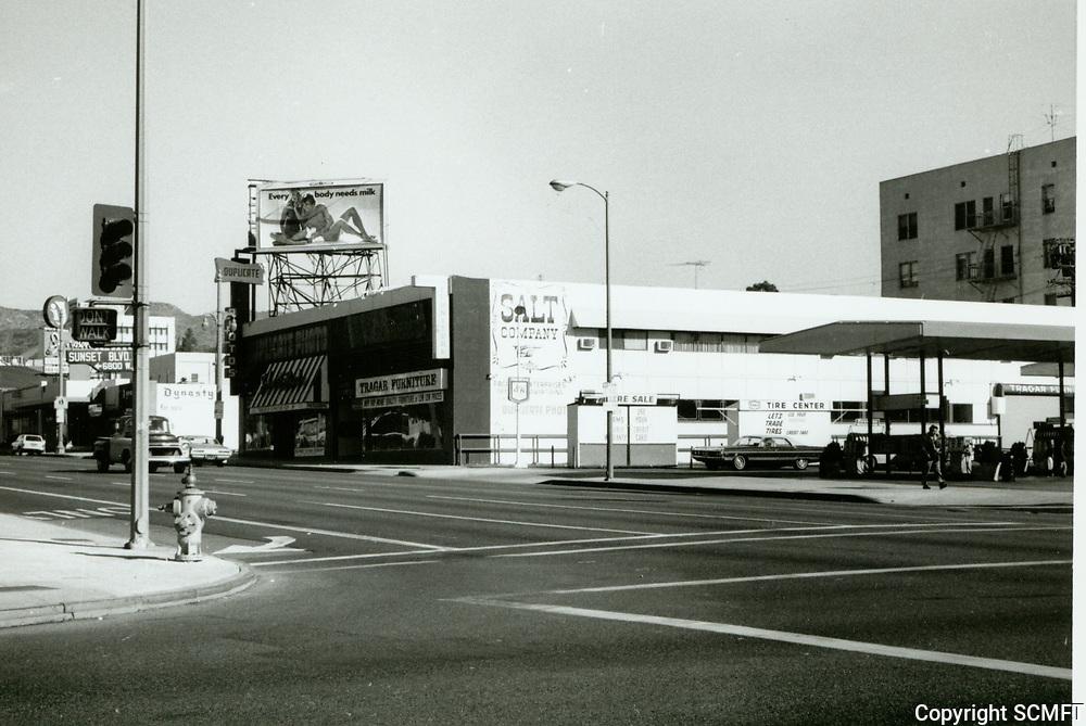 1972 NW corner of Sunset Blvd. & Highland Ave.