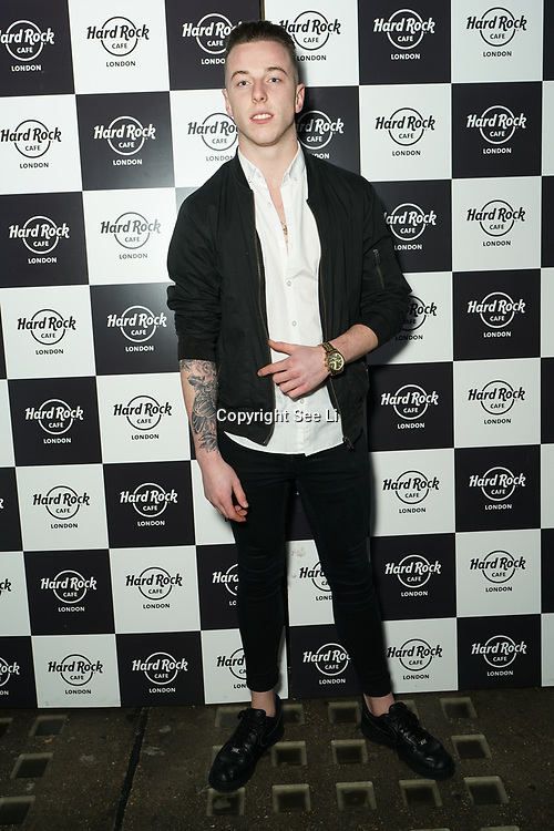 Hard Rock Cafe London, England, UK. 4th Dec 2017. Josh Bailey Arrivals at Fight For Life Charity Event of Christmas festivities and entertainment for children with cancer.