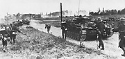 World War 2: German invasion of Poland, 1 September 1939, using 45 German divisions and aerial attack. By 20 September only Warsaw held out, but final surrender came on 29 September.