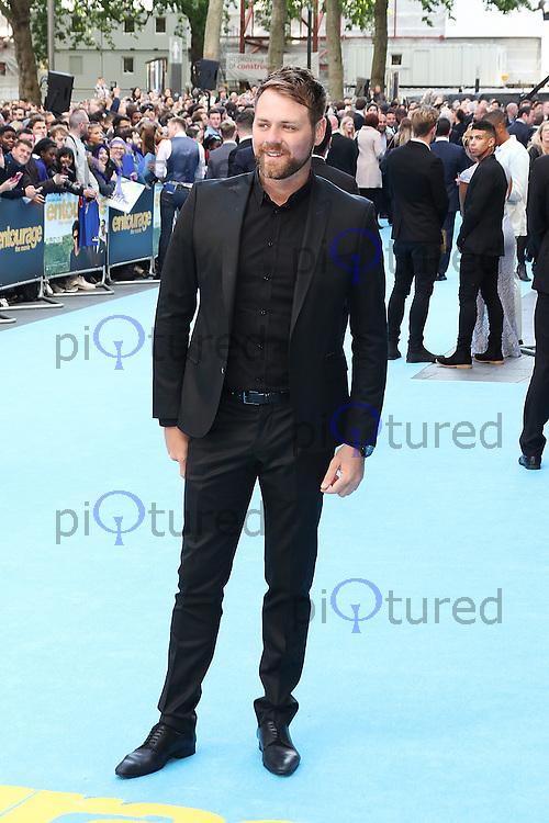 Brian McFadden, Entourage - European Film Premiere, Leicester Square, London UK, 09 June 2015, Photo by Richard Goldschmidt