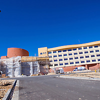 021513       Cable Hoover<br /> <br /> Landscaping and construction crews work on the final stages of the Twin Arrows Navajo Casino Resort about 25 miles east of Flagstaff Friday. The casino is scheduled to open during summer of this year.