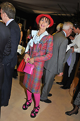 LADY HENRIETTA ROUS at a preview evening of the annual London LAPADA (The Association of Art & Antiques Dealers) antiques Fair held in Berkeley Square, London on 18th September 2012.