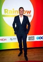 Ryan Atkin at  the Rainbow Honours Awards, at Madame Tussauds, London. 04.12.19