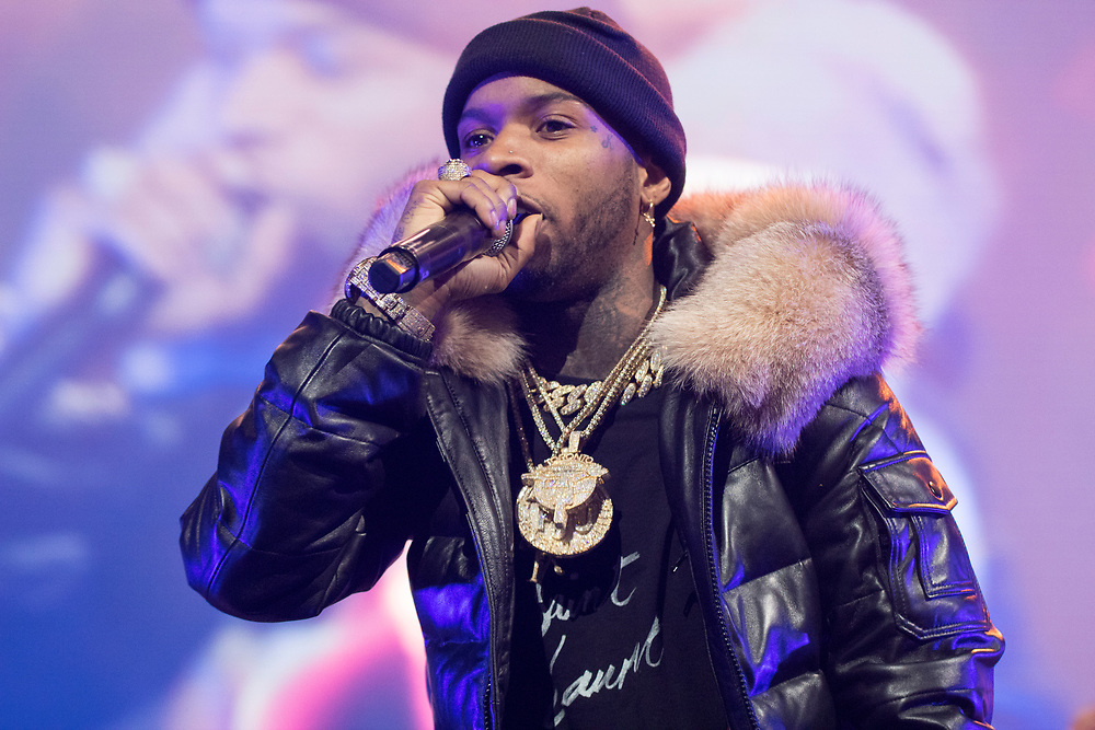 Tory Lanez at the WGCI Big Jam at the United Center in Chicago, IL on November 25, 2018.