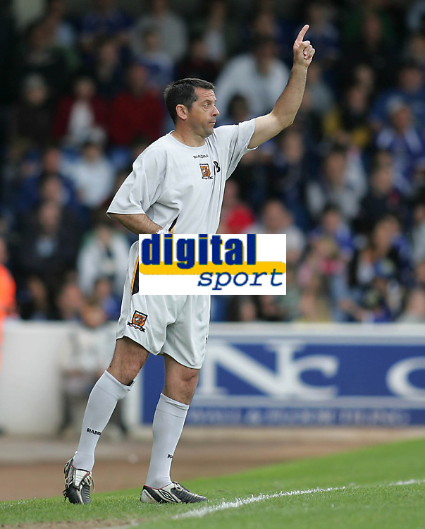 Photo: Lee Earle.<br /> Cardiff City v Hull City. Coca Cola Championship. 28/04/2007.Hull manager Phil Brown.