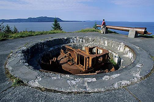 Alaska, Fort Abercrombie. Southeast  Alaska.