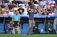 2016.06.21 Marsylia Marseille<br /> Pilka nozna Euro 2016<br /> mecz grupy C Ukraina - Polska<br /> N/z Adam Nawalka trener Head Coach<br /> Foto Norbert Barczyk / PressFocus<br /> <br /> 2016.06.21 Marsylia Marseille<br /> Football UEFA Euro 2016 group C game between Ukraine and Poland<br /> Adam Nawalka trener Head Coach<br /> Credit: Norbert Barczyk / PressFocus