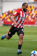 Brentford Forward Bryan Mbeumo(#19) on the ball during the EFL Sky Bet Championship match between Brentford and Watford at Brentford Community Stadium, Brentford, England on 1 May 2021.