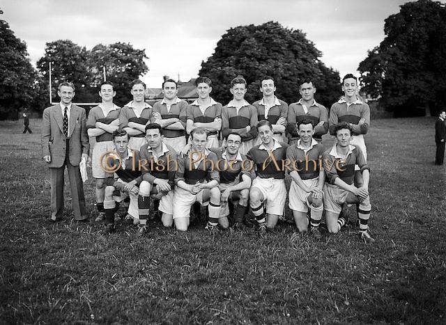 18.7.1952 Football (Crowe Wilson Drapers team) Drapers Championship