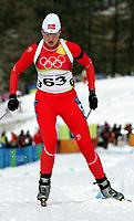 OL 2006 Skiskyting 7,5 km sprint,<br />Cesana San Sicario<br />16.02.06 <br />Foto: Sigbjørn Hofsmo, Digitalsport <br /><br />Linda Tjørhom NOR Norway