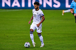 SEVILLE, SPAIN - Tuesday, November 17, 2020: Serge Gnabry of Germany during the UEFA Nations League match between Spain and Germany at Estadio La Cartuja de Sevilla on november 17, 2020 in Seville, Spain (Photo by Jeroen Meuwsen/Orange Pictures)