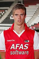 ALKMAAR - 31-08-2012- voetbal Eredivisie - AZ speler Markus Henriksen, contract.