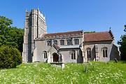 Village parish church of Saint Mary, Stonham Parva, Suffolk, England, UK