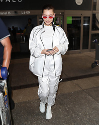 Bella Hadid is seen at LAX Airport in Los Angeles, CA.