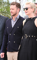 Justin Timberlake, Carey Mulligan, at the Coen brother's new film 'Inside Llewyn Davis' photocall at the Cannes Film Festival Sunday 19th May 2013