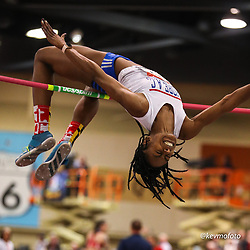 2020 USATF Indoor Championship<br /> Albuquerque, NM 2020-02-15<br /> photo credit: © 2020 Kevin Morris<br /> womens high jump, Shore AC