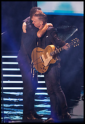 October 1, 2017 - Toronto, Canada - Image licensed to i-Images Picture Agency. 30/09/2017. Toronto, Canada.  Bruce Springsteen and Bryan Adams performing at the closing ceremony of the  Invictus Games in Toronto, Canada.  Picture by Stephen Lock / i-Images (Credit Image: © Stephen Lock/i-Images via ZUMA Press)