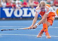 UTRECHT - Billy Bakker, zaterdag tijdens de  hockey interland tussen de mannen van Nederland en Duitsland (4-2). COPYRIGHT KOEN SUYK
