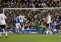 Photo: Kevin Poolman.<br />Derby County v Leicester City. Coca Cola Championship. 25/11/2006. Derby's Jon Stead (right) hits home their first goal.
