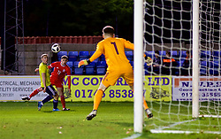RHYL, WALES - Wednesday, November 14, 2018: Wales' Joseph Adams during the UEFA Under-19 Championship 2019 Qualifying Group 4 match between Wales and Scotland at Belle Vue. (Pic by Paul Greenwood/Propaganda)