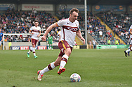 Bradford City defender Anthony McMahon (29)   during the EFL Sky Bet League 1 match between Rochdale and Bradford City at Spotland, Rochdale, England on 21 April 2018. Picture by Mark Pollitt.