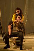 GASTON DE CARDENAS/El NUEVO HERALD -- Florida Grand Opera 2001/2002 Season. -- La Tragedia De Carmen with music by Bizet. Carmen played by Eliane Fox, Don Jose played by Luis Carlos Contreras.