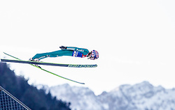 31.12.2013, Olympiaschanze, Garmisch Partenkirchen, GER, FIS Ski Sprung Weltcup, 62. Vierschanzentournee, Qualifikation, im Bild Michael Neumayer (GER) // Michael Neumayer (GER) during qualification Jump of 62nd Four Hills Tournament of FIS Ski Jumping World Cup at the Olympiaschanze, Garmisch Partenkirchen, Germany on 2013/12/31. EXPA Pictures © 2014, PhotoCredit: EXPA/ JFK