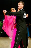Drammen 0604203 NM i Dans i Konnerudhallen. Standarddanser. Thomas Kagnes og Nadya Khamitskaya fra Romerike.<br /> <br /> Foto: Digitalsport