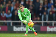 Goalkeeper Adrian of West Ham United in action. Barclays Premier League, West Ham Utd v Chelsea at The Boleyn Ground, Upton Park in London on Saturday 24th October 2015.<br /> pic by John Patrick Fletcher, Andrew Orchard sports photography.