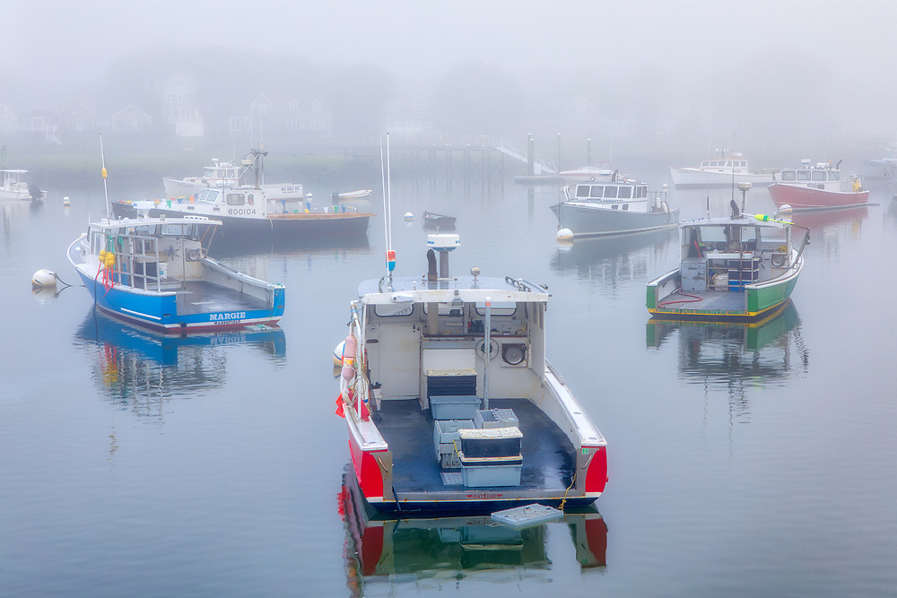 Foggy New England harbor fine art photography of Marshfield Town Pier Landing, Massachusetts. The fog beautifully created a serene harbor scenery.<br /> <br /> Foggy New England fine art photography image artwork of Marshfield Town Pier Landing is available as museum quality photography prints, canvas prints, acrylic prints, wood prints or metal prints. Prints may be framed and matted to the individual liking and decorating needs: <br /> <br /> https://juergen-roth.pixels.com/featured/marshfield-town-pier-juergen-roth.html<br /> <br /> Good light and happy photo making!<br /> <br /> My best,<br /> <br /> Juergen