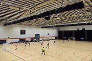 General view of the Mens Futsal Superleague match, Central v Capital, Pettigrew Green Arena, Napier, Saturday, September 28, 2019. Copyright photo: Kerry Marshall / www.photosport.nz