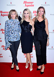 Nancy Myers, Reese Witherspoon and Hallie Myers-Shyer attending a screening of Home Again in London. Picture Date: Thursday 21 September. Photo credit should read: Ian West/PA Wire