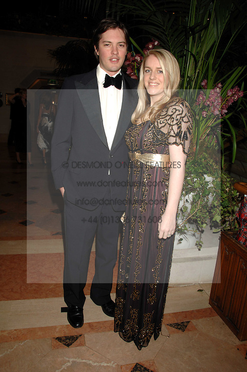 HARRY & LAURA LOPES she is the daughter of HRH The Duchess of Cornwall at The Diner Des Tsars in aid of Unicef to celebrate the launch of Quintessentially Wine held at the Guildhall, London EC2 on 29th March 2007.<br /><br />NON EXCLUSIVE - WORLD RIGHTS