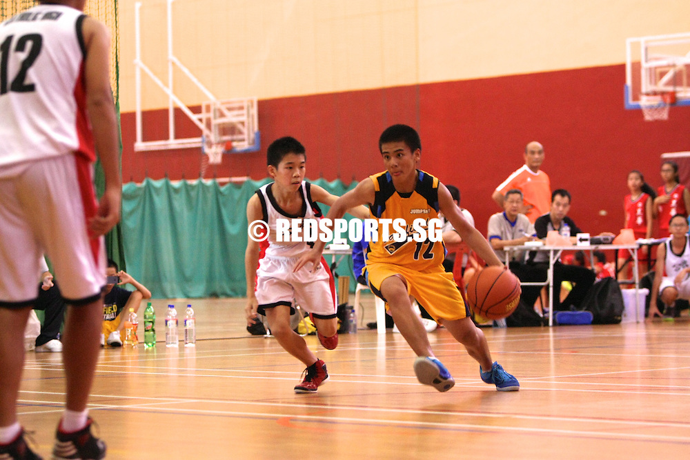 PESEB, Wednesday, July 24, 2013 – Fairfield Methodist School (Secondary) survived a fourth quarter onslaught from Catholic High School to upset the defending champions 47–40 in the second round of the South Zone C Division Basketball Championship.<br /> <br /> Story: http://www.redsports.sg/2013/07/28/south-zone-c-div-bball-fairfield-catholic-high/