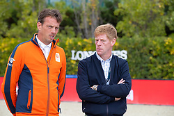Smolders Harrie, NED, Ehning Marcus, GER<br /> Longines FEI Jumping Nations Cup™ Final<br /> Barcelona 20128<br /> © Hippo Foto - Dirk Caremans<br /> 07/10/2018