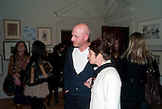 DANIEL SILVER; KAREN RUSSO, No New Thing Under the Sun. Royal Academy. Piccadilly. London. 20 OCTOBER 2010. -DO NOT ARCHIVE-© Copyright Photograph by Dafydd Jones. 248 Clapham Rd. London SW9 0PZ. Tel 0207 820 0771. www.dafjones.com.