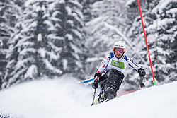 Bambousek Pavel of Czech Republic Bduring Slalom race at 2019 World Para Alpine Skiing Championship, on January 23, 2019 in Kranjska Gora, Slovenia. Photo by Matic Ritonja / Sportida