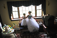 9/8/12 2:30:14 PM - Buckingham, PA.. -- Lindsay & Greg - September 8, 2012 in Buckingham, Pennsylvania. -- (Photo by William Thomas Cain/Cain Images)