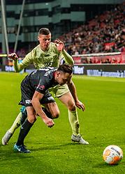 27-09-2018 NED: FC Utrecht - MVV Maastricht, Utrecht<br /> First round Dutch Cup stadium Nieuw Galgenwaard / Nick Venema #29 of Utrecht, Joeri Schroyen #11 of MVV